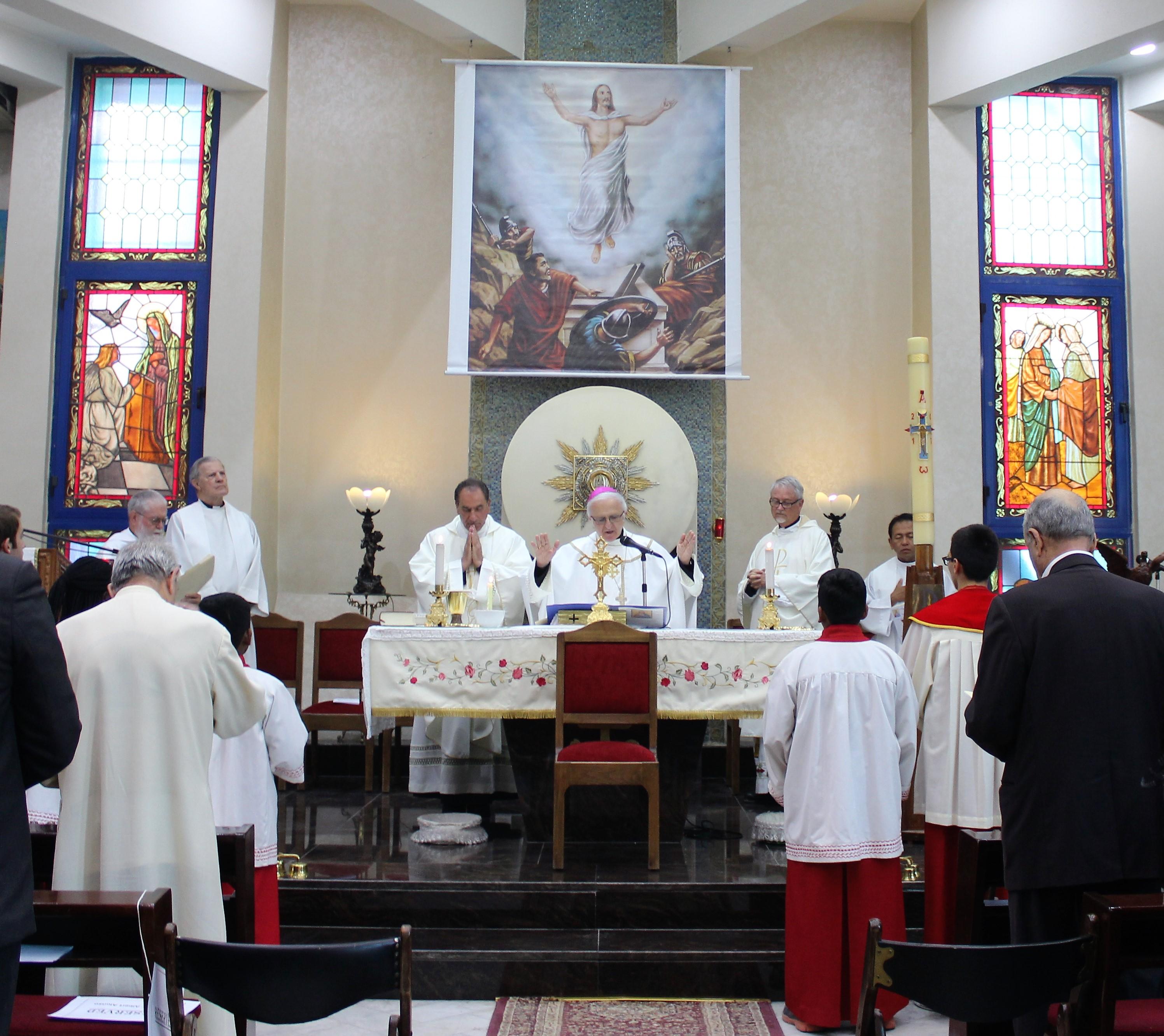 Beginning the Mass