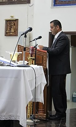 3-Raed Awwad reading the Second Reading-reading